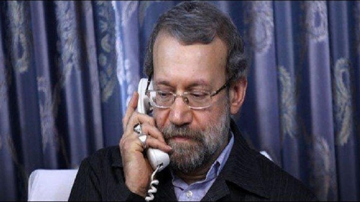 لاریجانی: امنیت و معنویت کشور مرهون شهدای مدافع حرم است
