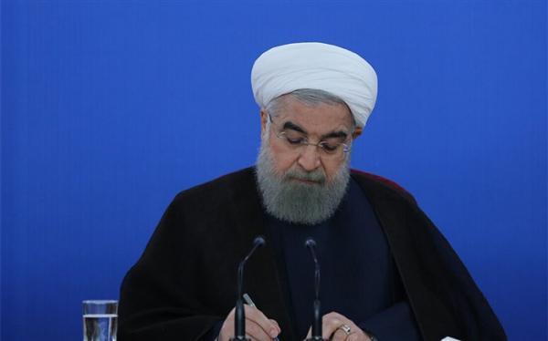روحانی درگذشت پدر شهیدان بنی عامریان را تسلیت گفت