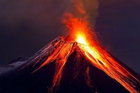 اسکی روی آتشفشان فعال سرو نگرو