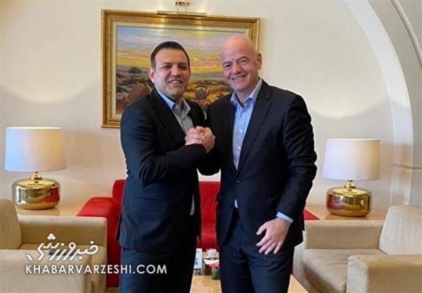 جزئیات جلسه عزیزی خادم و اینفانتینو، بهتر است دولت ایران تعهداتش را انجام دهد