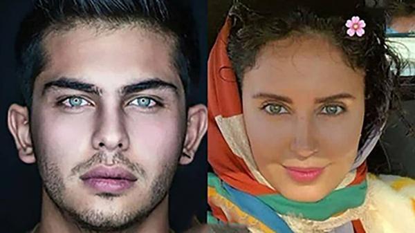 عکس های 8 بازیگر چشم رنگی ایران